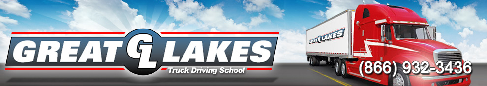 Great Lakes Truck Driving School Ohio Truck Driving School Banner